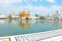 Amritsar Punjab goldent świątynni powikłani ind Obrazy Royalty Free