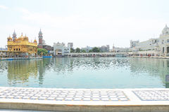Amritsar Punjab goldent świątynni powikłani ind Obrazy Stock