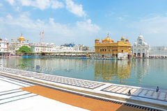 Amritsar Punjab goldent świątynni powikłani ind Fotografia Royalty Free