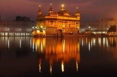 Amritsar, tempio dorato, India Immagini Stock