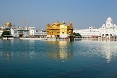 Amritsar, tempio dorato, India Fotografie Stock Libere da Diritti