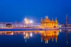 amritsar złota świątynia fotografia stock