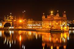 amritsar złota świątynia obraz royalty free