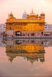 amritsar złota ind Punjab świątynia Zdjęcie Royalty Free