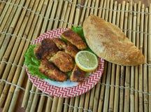 Amritsari fisk Fotografering för Bildbyråer