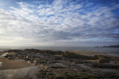 Amroth Beach Pembrokeshire South Wales Royalty Free Stock Photo