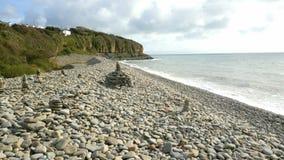 Amroth nahe Tenby Pembrookshire-Küste Stockbild