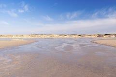 Amrum海滩  免版税库存图片