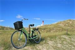 Amrum cykel arkivfoto