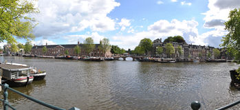 Amstel Άμστερνταμ Στοκ φωτογραφία με δικαίωμα ελεύθερης χρήσης