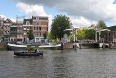 Amstel Amsterdam 1 Fotografie Stock