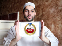 Amstel beer logo Royalty Free Stock Photography