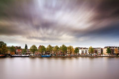 Amstel cloudscape Stock Photo