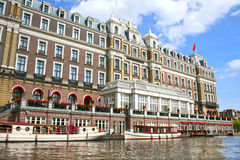 Amstel hotel in Amsterdam Stock Photography