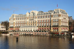 Amstel Hotel in Amsterdam, Holland Stock Images