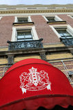Amstel Hotel in the center of Amsterdam, The Netherlands Royalty Free Stock Photography