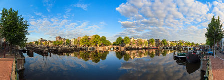 180 Amstel-panorama Stock Foto