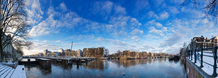 Amstel 180 panorama Stock Image