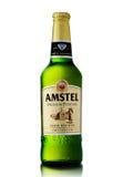 Amstel Premium Pilsener is an internationally known brand of bee Stock Photos