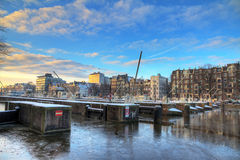 Amstel sluice Stock Image