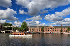 Amstel tour boat Stock Images