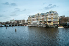 Amstelhotel in Amsterdam Stock Images