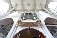 Amstelkerk教会的内部在阿姆斯特丹荷兰 免版税图库摄影