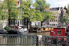 Amsterdão, Holanda Fotografia de Stock