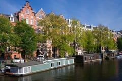 Amsterdão, os Países Baixos. fotografia de stock royalty free