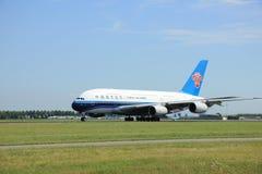 Amsterdão, os Países Baixos - 7 de agosto de 2015: Souther de B-6137 China Imagens de Stock Royalty Free