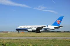Amsterdão, os Países Baixos - 7 de agosto de 2015: Souther de B-6137 China Fotografia de Stock Royalty Free