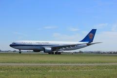 Amsterdão os Países Baixos - 25 de março de 2017: B-6548 China Southern Airlines Foto de Stock Royalty Free