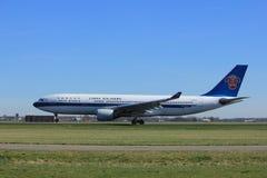 Amsterdão os Países Baixos - 25 de março de 2017: B-6548 China Southern Airlines Imagem de Stock