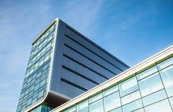 AMSTERDÃO, PAÍSES BAIXOS - 17 DE JANEIRO DE 2016: Arquitetura moderna da cidade 17 de janeiro de 2016 em Amsterdão - Netherland Foto de Stock