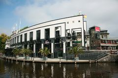 Amsterdão, Países Baixos - 15 de setembro de 2010: fundação nacional para a exploração do jogo nos Países Baixos O Netherl Imagens de Stock