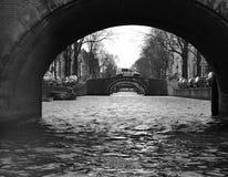 Amsterdão sete pontes Foto de Stock