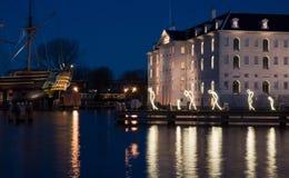 Amsterdam światła festiwal 2016 Obraz Royalty Free