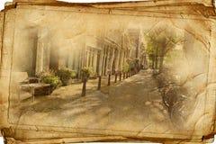 amsterdam ретро стоковое изображение rf