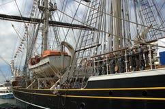 amsterdam 2010 seglar Fotografering för Bildbyråer