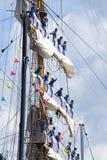 amsterdam 2010 ståtar seglar Fotografering för Bildbyråer