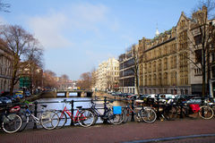 Amsterdam. Royalty Free Stock Photography