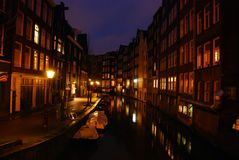 amsterdam Στοκ εικόνα με δικαίωμα ελεύθερης χρήσης