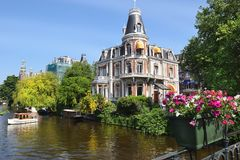 Free Amsterdam, A Trip Through The Picturesque Canals Stock Image - 121182831