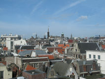 Amsterdam from above Royalty Free Stock Photos