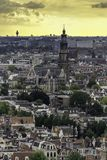 Amsterdam old city view royalty free stock images