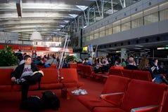 Amsterdam airport Stock Photo