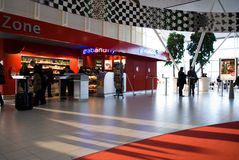 Amsterdam airport Royalty Free Stock Photo