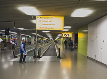 Amsterdam Airport Schiphol Royalty Free Stock Photo