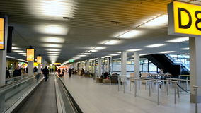 Amsterdam Airport Schiphol, Netherlands, stock video footage