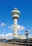 Amsterdam airport tower Royalty Free Stock Photos